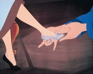 cinderella shoe finding prince charming