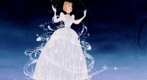 cinderella turning into a princess