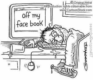 drunk on facebook, online dating