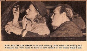 vintage dating tip car mirror
