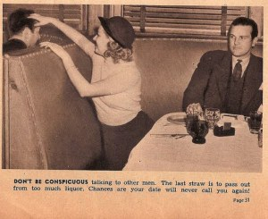 vintage dating advice flirting