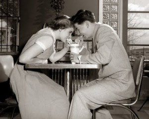 vintage dating in love