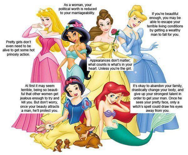 funny disney princess fairy tale feminist
