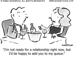 funny dating cartoon