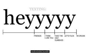 funny text heyyyy