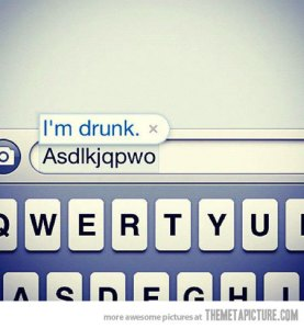 funny text message drunk