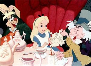 Alice tea party mad hatter