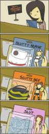 slutty halloween costume funny cartoon