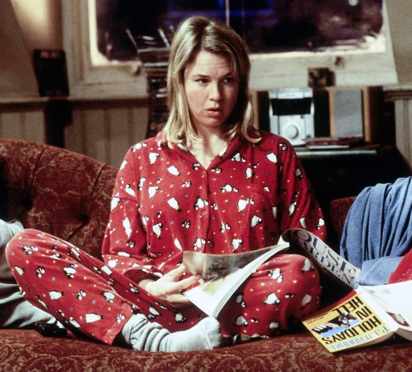 Bridget Jones Diary Single on Christmas