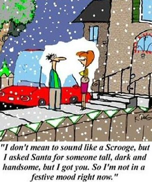 scrooge dating on holidays funny
