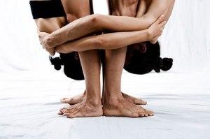 yoga couple sensual
