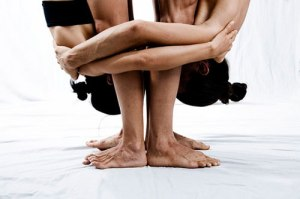 yoga couple sensual