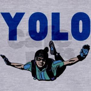 skydiving yolo