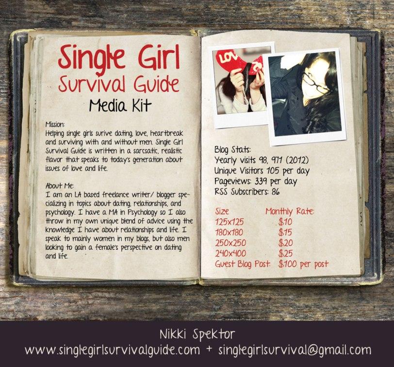 single girl survival guide media kit