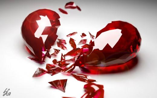 Smashed Heart