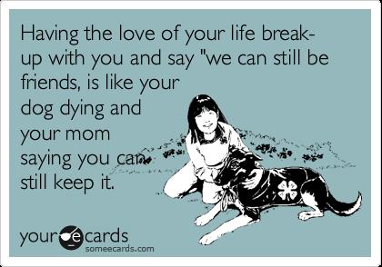 funny breakup ecard